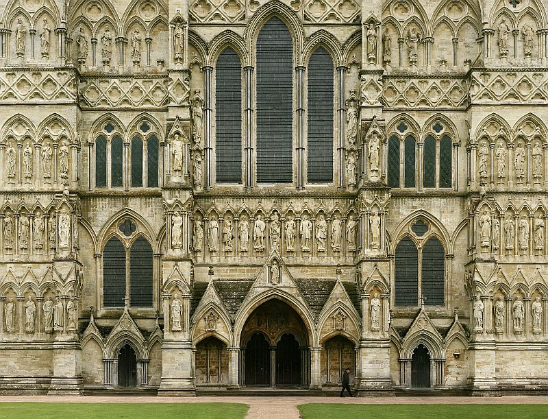 Photograph of Salisbury Cathedral
